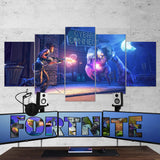 Fortnite 99 - 5 Piece Canvas Wall Art Gaming Canvas