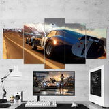 Forza Motorsport 02 - 5 Piece Canvas Wall Art Gaming Canvas
