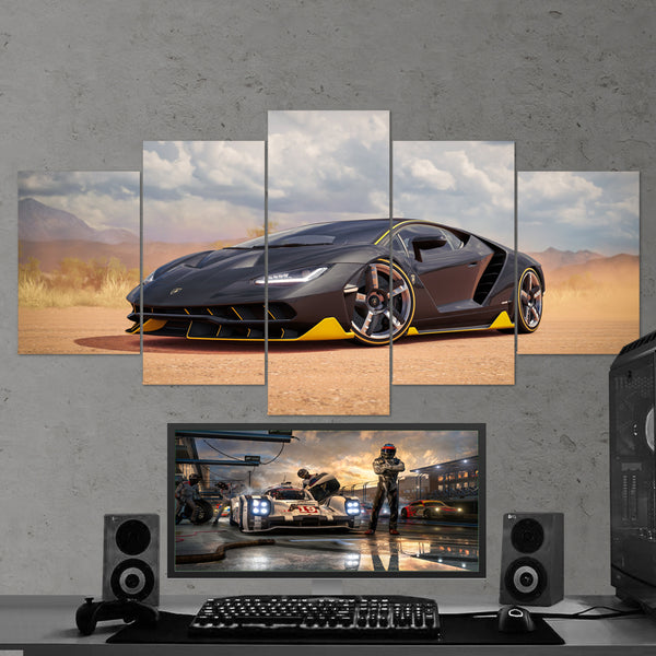 Forza Motorsport 05 - 5 Piece Canvas Wall Art Gaming Canvas