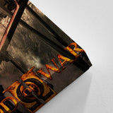 God Of War 26 - 5 Piece Canvas Wall Art Gaming Canvas