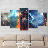 Guild Wars 01 - 5 Piece Canvas Wall Art Gaming Canvas