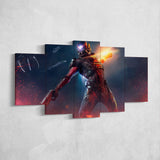 Mass Effect Canvas Art - Andromeda 5 Piece Canvas Wall Art Gaming Canvas