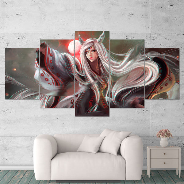 Naruto Canvas Ultimate Ninja 02 Anime 5 Piece Canvas Wall Art Gaming Canvas