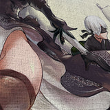 Nier Automata 04 2B And 9S - 5 Piece Canvas Wall Art Gaming Canvas