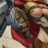 Overwatch 04 Female Mccree 5 Piece Canvas Wall Art Gaming Canvas