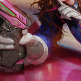 Overwatch 06 Dva 5 Piece Canvas Wall Art Gaming Canvas