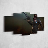 PUBG Player Unknown's Battlegrounds 11 - 5 Piece Canvas Wall Art Gaming Canvas