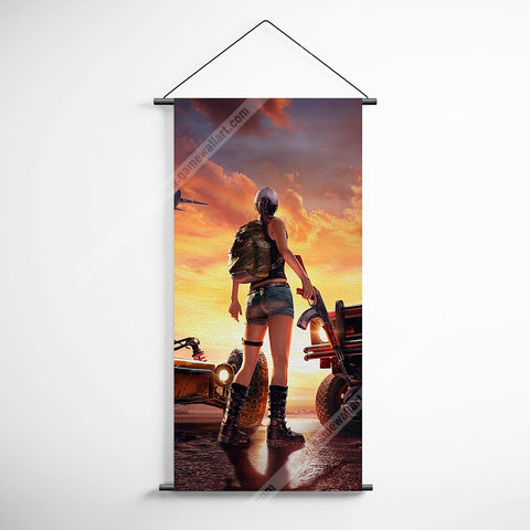 PUBG 24 Playerunknowns Battlegrounds Decorative Banner Flag for Gamers