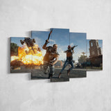 PUBG PlayerUnknown's Battlegrounds 30 - 5 Piece Canvas Wall Art Gaming Canvas