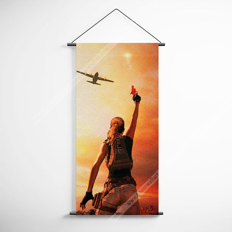 PUBG 32 Playerunknowns Battlegrounds Decorative Banner Flag for Gamers