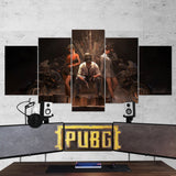 PUBG PlayerUnknown's Battlegrounds 47 - 5 Piece Canvas Wall Art Gaming Canvas
