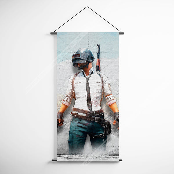 PUBG 48 Playerunknowns Battlegrounds Decorative Banner Flag for Gamers