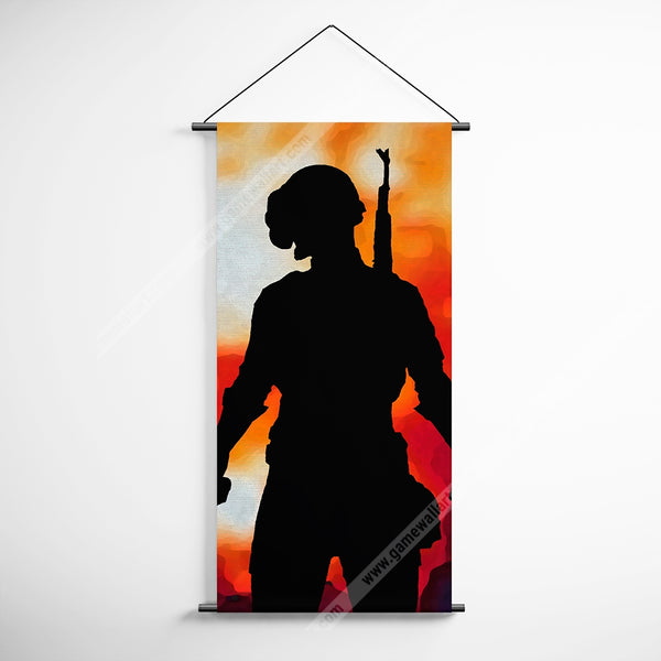PUBG 55 Playerunknowns Battlegrounds Decorative Banner Flag for Gamers