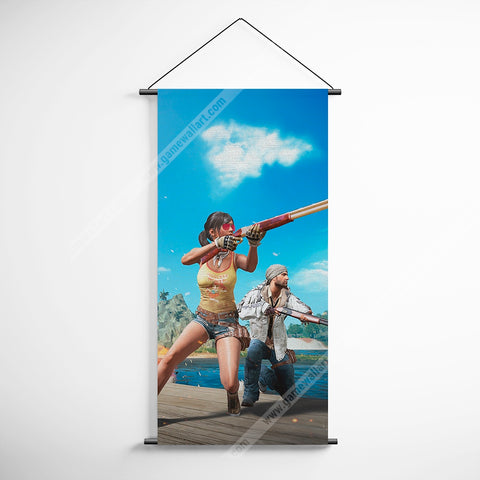 PUBG 57 Playerunknowns Battlegrounds Decorative Banner Flag for Gamers