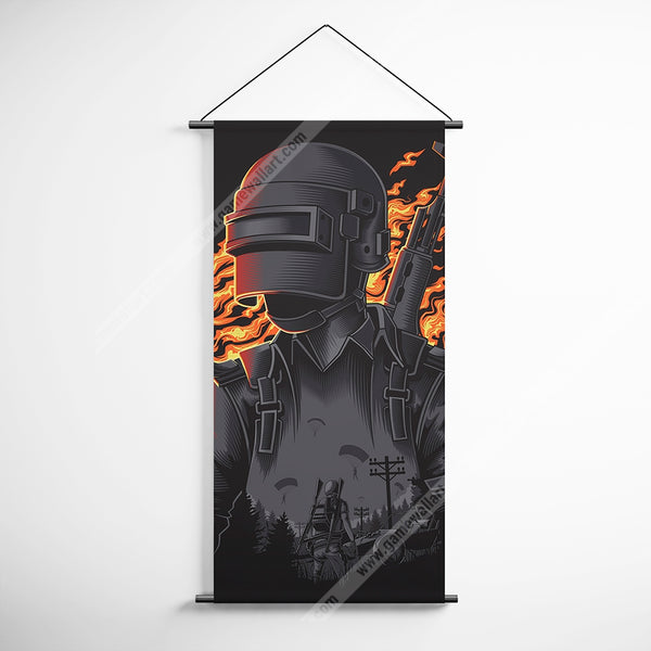 PUBG 66 Playerunknowns Battlegrounds Decorative Banner Flag for Gamers
