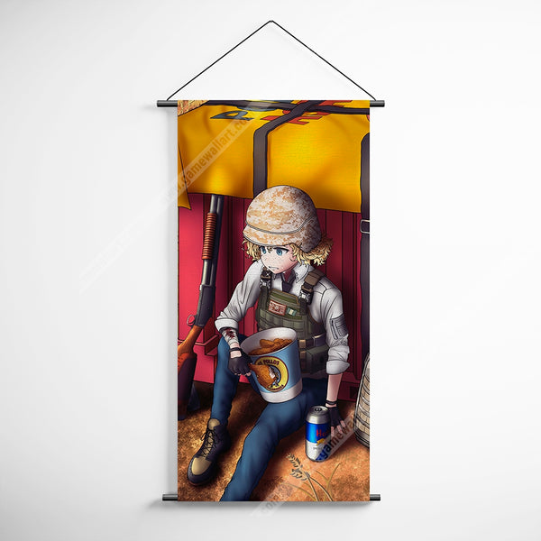 PUBG 69 Playerunknowns Battlegrounds Air Drops Decorative Banner Flag for Gamers