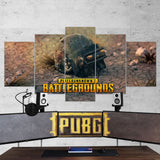 PUBG 70 Playerunknowns Battlegrounds Helmet 5 Piece Canvas Wall Art Gaming Canvas