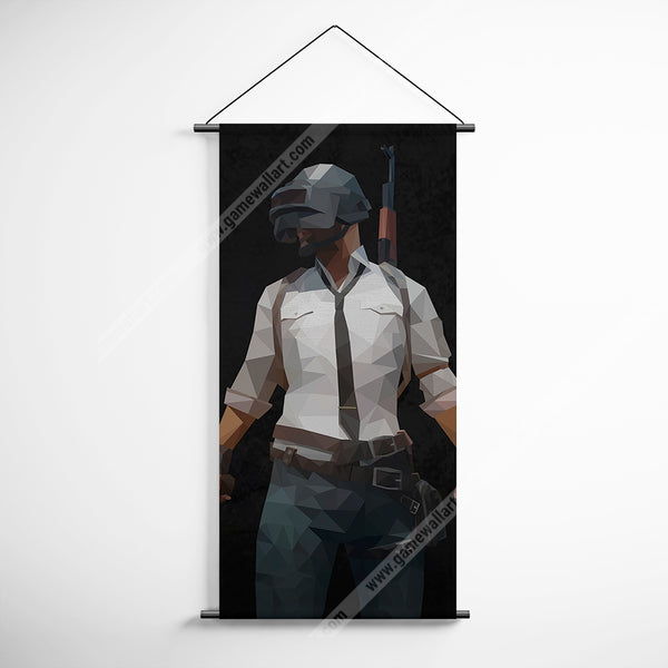 PUBG 71 Playerunknowns Battlegrounds Minimalist Abstract Decorative Banner Flag for Gamers
