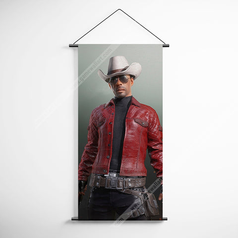 PUBG 82 Playerunknowns Battlegrounds - Cowboy Decorative Banner Flag for Gamers