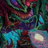 Psychedelic Canvas Wall Art 02 - Cosmic Monster - Abstract Canvas