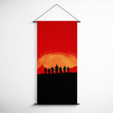 Red Dead Redemption Banner - Dutchs Gang Decorative Flag for Gamers BFRDR008