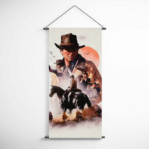 Red Dead Redemption 2 Arthur Morgan Banner Flag for Gamers BFRDR009