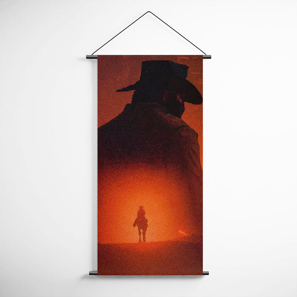 Red Dead Redemption 2 Arthur Morgan Decorative Banner Flag for Gamers BFRDR011