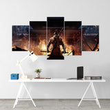 Sekiro 02 - 5 Piece Canvas Wall Art Gaming Canvas
