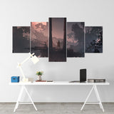 Sekiro 05 - 5 Piece Canvas Wall Art Gaming Canvas