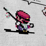 Super Mario 08 Pixel Art- It's Not You, It's Me 5 Piece Canvas Wall Art Gaming Canvas