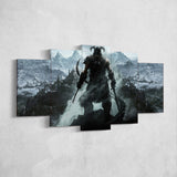 The Elder Scrolls 02 Online 5 Piece Canvas Wall Art Gaming Canvas