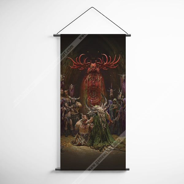 WOW - World of Warcraft 55 The Shadow Council Lords Over Ner'Zhul Decorative Banner Flag for Gamers