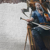 The Witcher 01 - 5 Piece Canvas Wall Art Gaming Canvas