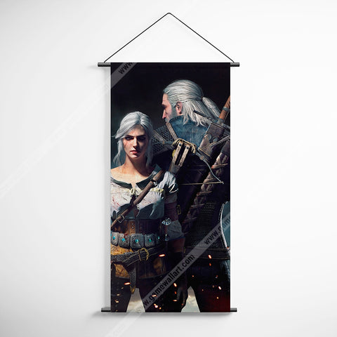 The Witcher 04 Decorative Banner Flag for Gamers