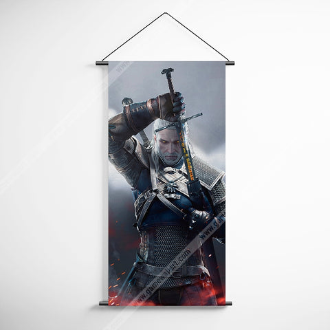 The Witcher 06 Decorative Banner Flag for Gamers