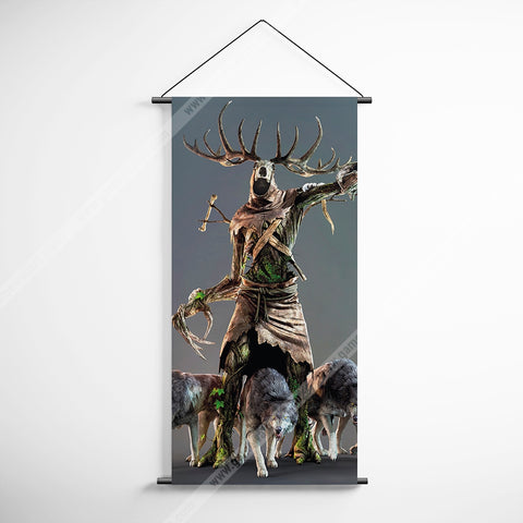 The Witcher 07 Decorative Banner Flag for Gamers