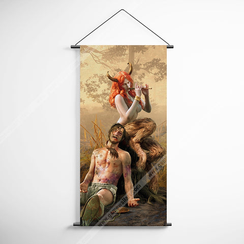 The Witcher 09-1 Succubus Decorative Banner Flag for Gamers