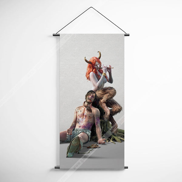 The Witcher 09 Succubus Decorative Banner Flag for Gamers
