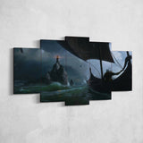 The Witcher 12 - 5 Piece Canvas Wall Art Gaming Canvas