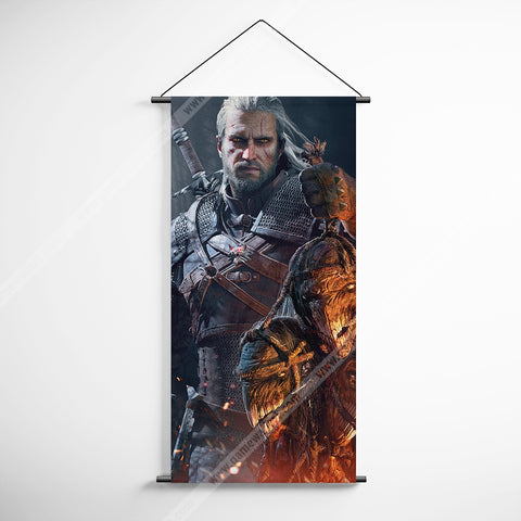 The Witcher 15 Decorative Banner Flag for Gamers