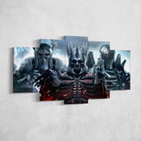 The Witcher 17 - 5 Piece Canvas Wall Art Gaming Canvas