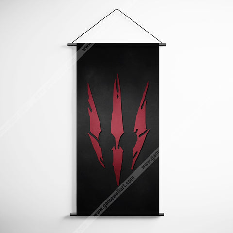 The Witcher 18 Logo Decorative Banner Flag for Gamers