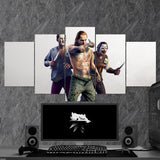 The Witcher 20 - 5 Piece Canvas Wall Art Gaming Canvas