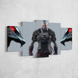 The Witcher 21 - 5 Piece Canvas Wall Art Gaming Canvas