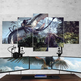 The Witcher 25 - 5 Piece Canvas Wall Art Gaming Canvas