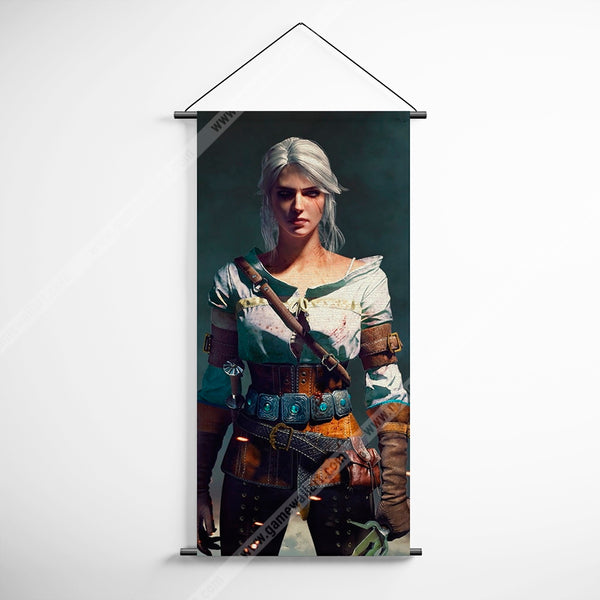 The Witcher 35 Decorative Banner Flag for Gamers