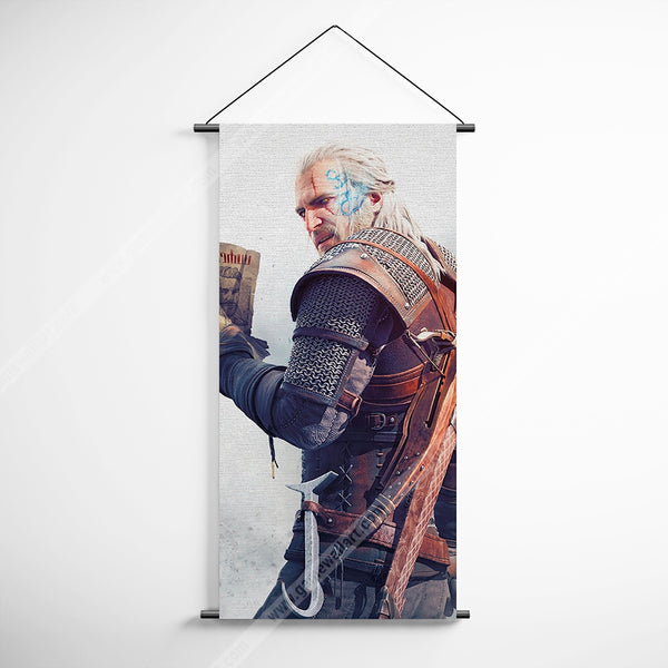The Witcher 36 Decorative Banner Flag for Gamers