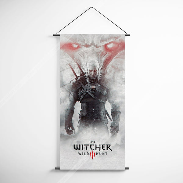 The Witcher 38 Wild Hunt Decorative Banner Flag for Gamers