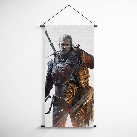 The Witcher 51 Geralt Decorative Banner Flag for Gamers