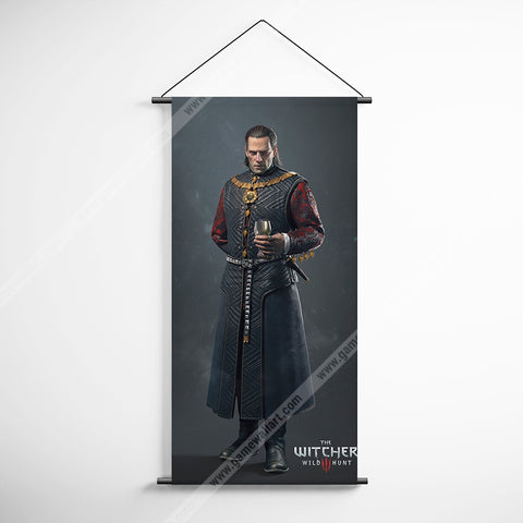 The Witcher 54 Decorative Banner Flag for Gamers